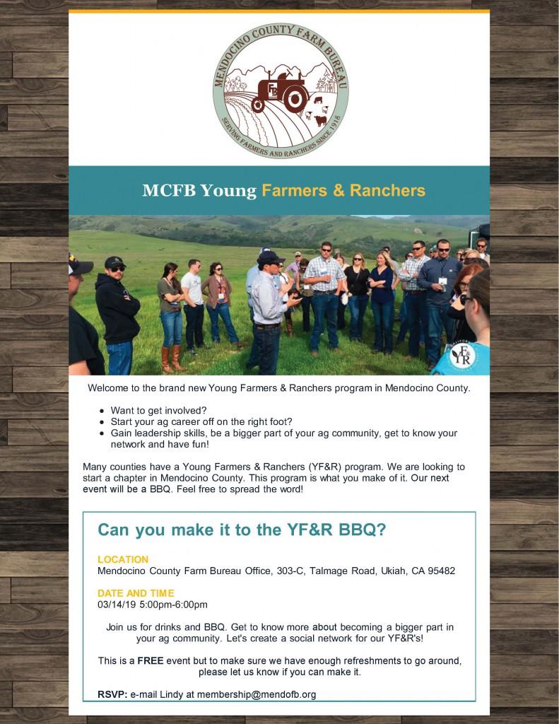 YF&R BBQ – Mendocino County Farm Bureau